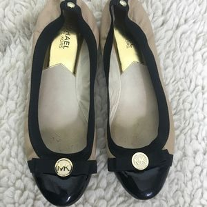 Michael Kors Dixie with Bow Ballet Flats